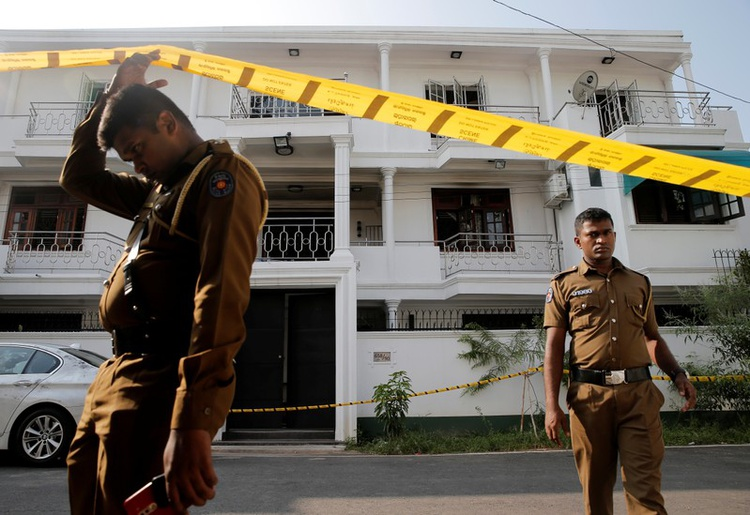 Sri Lanka on edge with scares, lock-downs and sweeps for bomb suspects