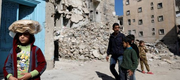 syria bombing daha Malak Kasas Aleppo's Kalasa district