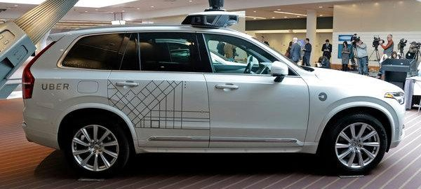 self-driving, Uber's self-driving, investment new investment self-driving self-driving unit