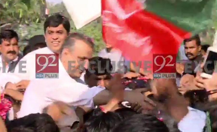 PTI's Aleem Khan released from Kot Lakhpat jail