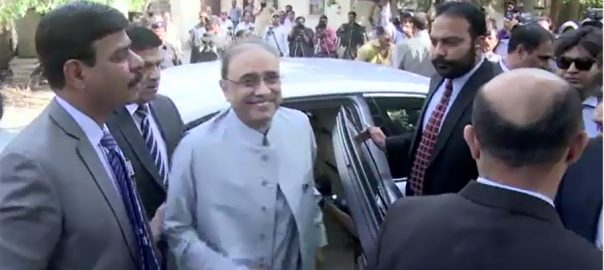 NAB, summons, former, president, Asif Zardari, May 9