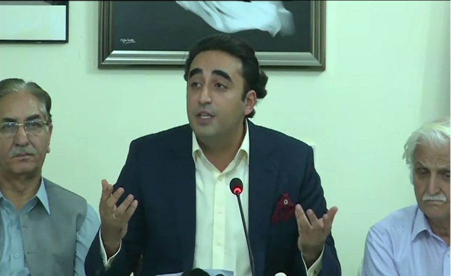Bilawal Bhutto demands production order for detained MNA Ali Wazir