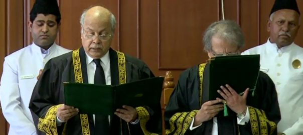 CJ Khosa, leaves, Russian, tour, Justice, Gulzar, takes, oath, acting CJ