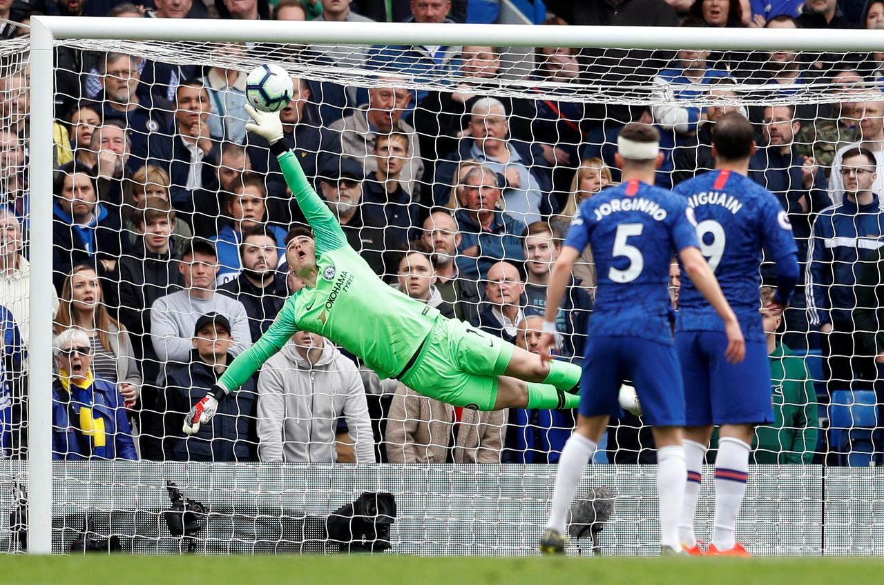 Chelsea grab top-four spot as rivals self-destruct again