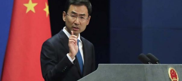 China pakistan sovereignty dignity Foreign Ministry spokesman Geng Shuang