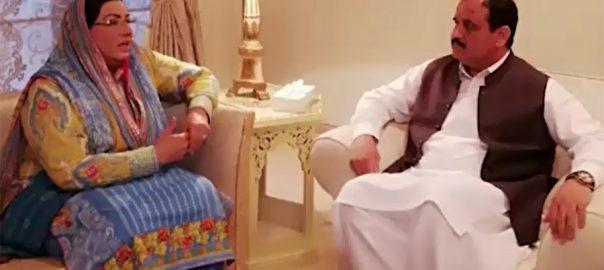 Firdous, Ashiq, Awan, calls on, Punjab CM, Usman Buzdar