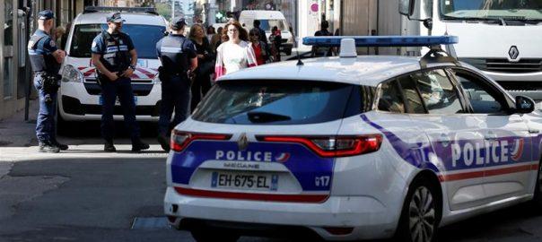 French French police Lyon bomb blast Lyon bomb blast