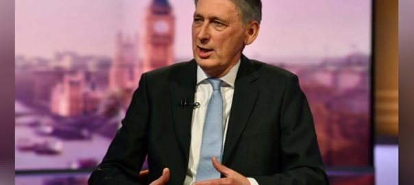 Hammond leadership low tax dogma LONDON British finance minister Philip Hammond Prime Minister Theresa May