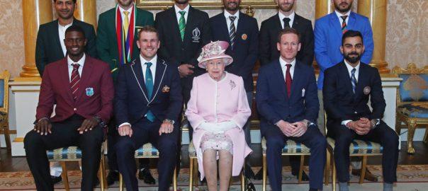 ICC, World Cup, captains, meet, Queen Elizabeth II