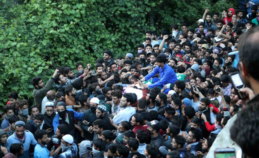 Indian troops martyr two Kashmiri youths in Kulgam