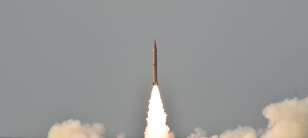 Pakistan, successfully, conducts, training, launch, surface-to-surface, ballistic missile, Shaheen-II