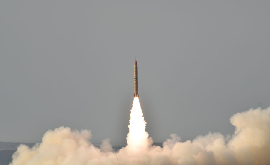 Pakistan successfully conducts training launch of surface-to-surface ballistic missile Shaheen-II