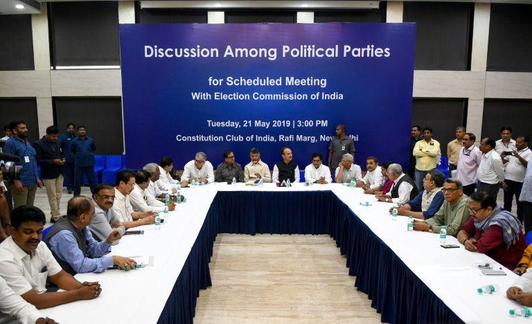 India's opposition parties allege vote machine fraud