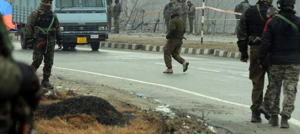 troops indian troops crackdown shopian Pulwama