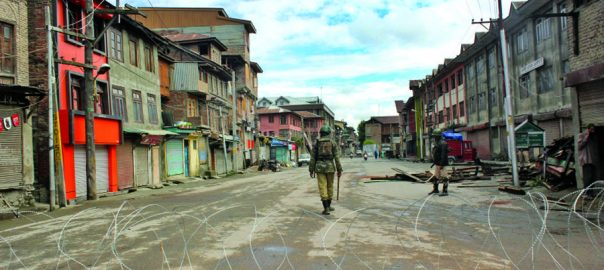 Complete, shutdown, youths, martyred, Occupied Kashmir