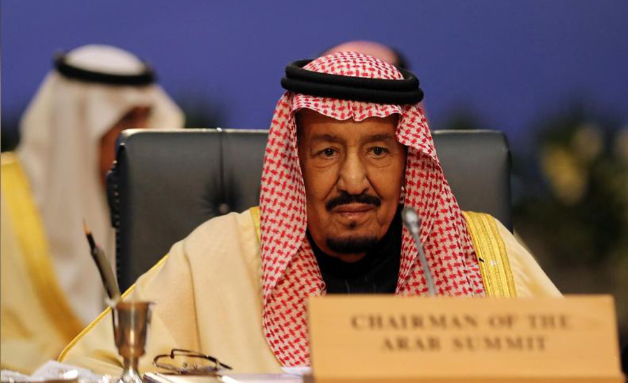 Saudi King Salman calls for firm Arab stance against threats from Iran