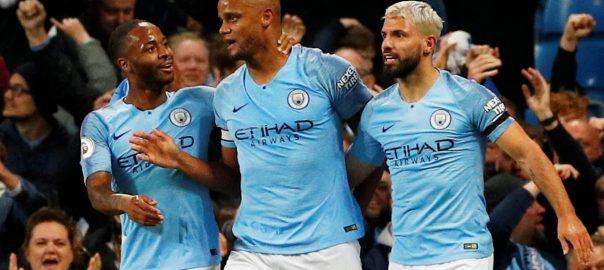 Kompany, stunner, Manchester City, win, title