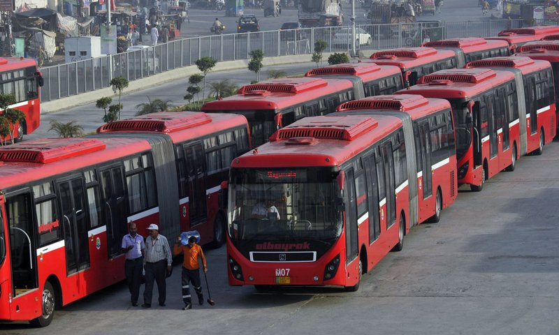 PM gives a go-ahead to hike fares of Lahore's Metro Bus