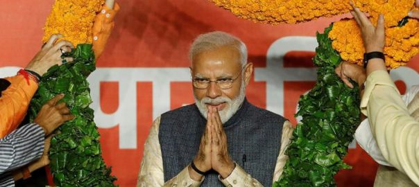 Modi, begins, talks, new cabinet, election, win