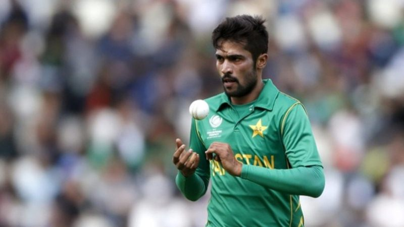 Mohammad Amir ruled out of third ODI due to chickenpox