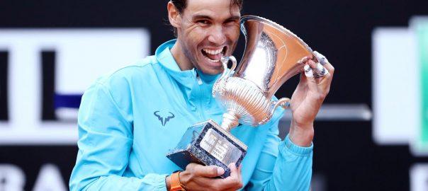 Nadal, Djokovic, ninth, Rome title