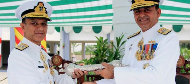 Vice-Admiral, Amjad Niazi, takes over, Commander Karachi, Vice Admiral, Asif Khaliq, Commander Pakistan Fleet
