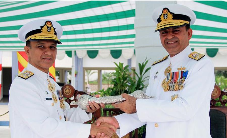 Vice Admiral Amjad Niazi takes over as Commander Karachi