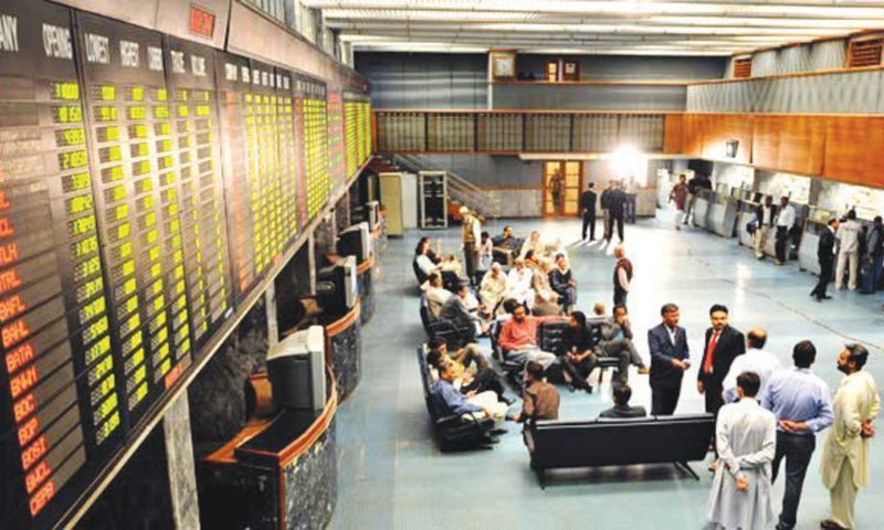stocks 1166 points US Iran KES-100Pakistani stocks steep fall PSX Pakistan Stock Exchange PSX benchmark KSE-100 index Pakistan stock exchangePoints PSX Pakistan Stock Exchange 41 400 points new yearIMF International monetary Fund points Pakistan Stock Exchange PSX 816 points 33900 points IMF conditions