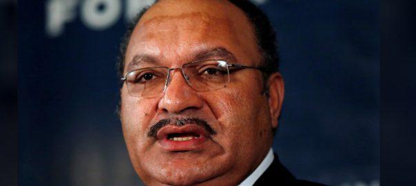 Political Papua New Guinea PM SYDNEY Peter O'Neill parliament