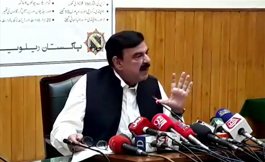 Sheikh Rasheed holds previous govts responsible for hike in dollar rate