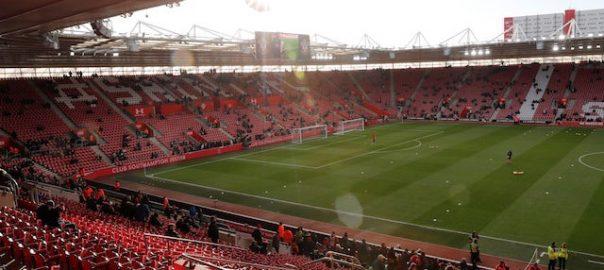 ENGLAND SOCCER Southampton's St Mary's Stadium England's Euro 2020 qualifier Kosovo