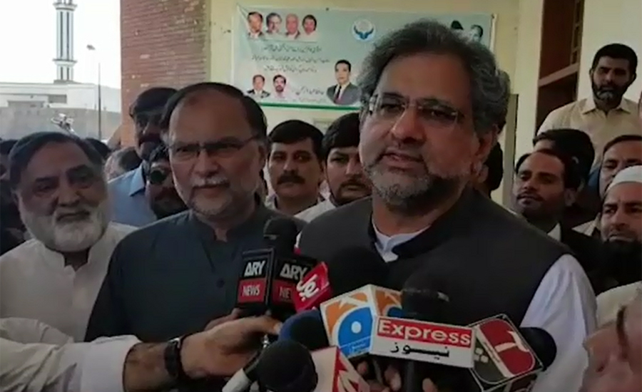 Curse on those seeking and giving NRO, says Shahid Khaqan Abbasi