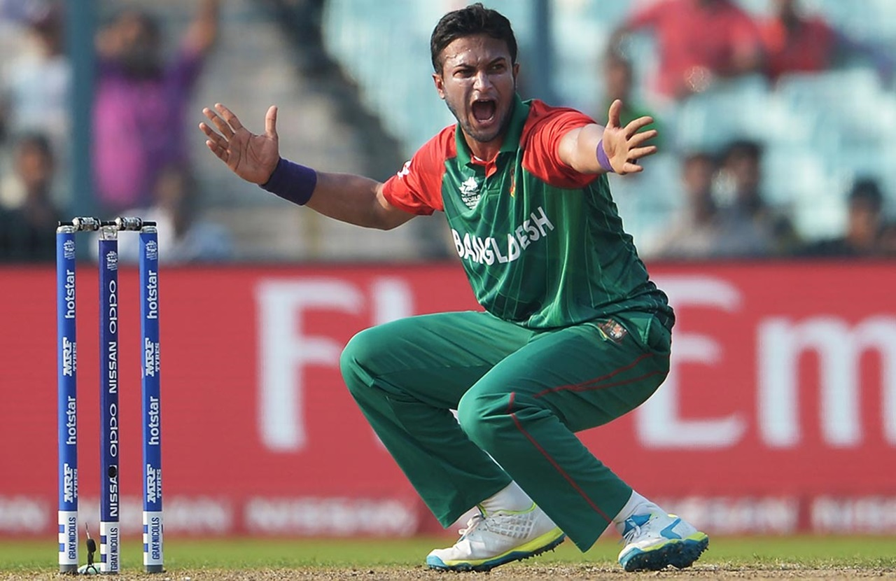 Shakib goes into World Cup as No 1 all-rounder
