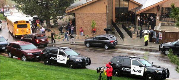 Students, open, fire, Colorado, school, killing, one, wounding, sevens
