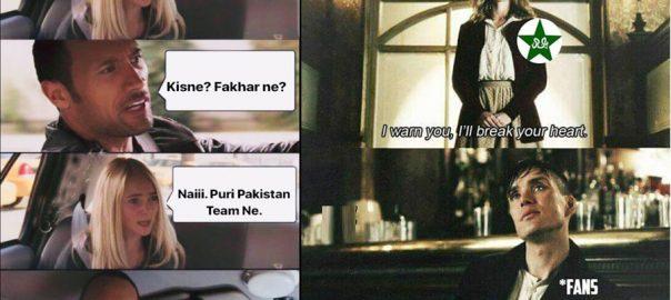 Social media users troll Pakistani team over recent performance