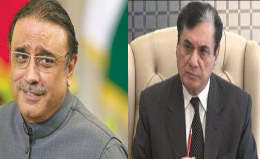 Zardari demands action against NAB chairman