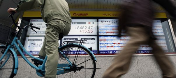 Asia, shares, slump, four-month low, risk, interminable, trade, war