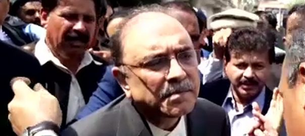 Asif Zardari, Faryal Talpur, interim, fake accounts case, SC