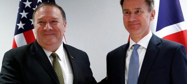 conflict Britain US conflict iran-Us coflict