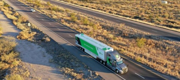 Self-driving Self-driving trucks US US Postal Service mail delievery
