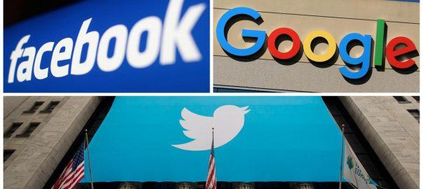 fake news Google Twitter Facebook fake news fight