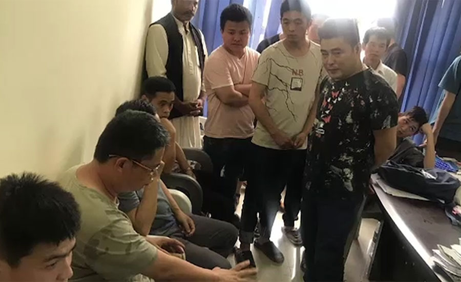 FIA arrests 14 Chinese nationals, recovers 3 girls in human trafficking
