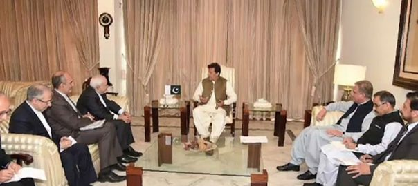 PM, Imran Khan, Iranian, FM, discuss, bilateral, relations