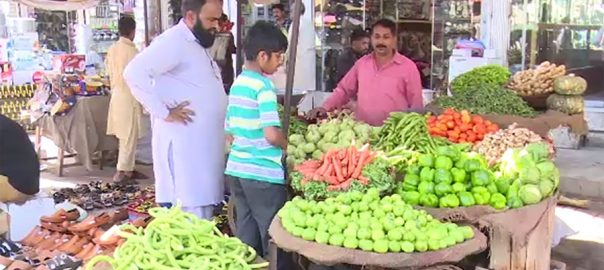 prices ramazan inflation food items market bureau of statistics
