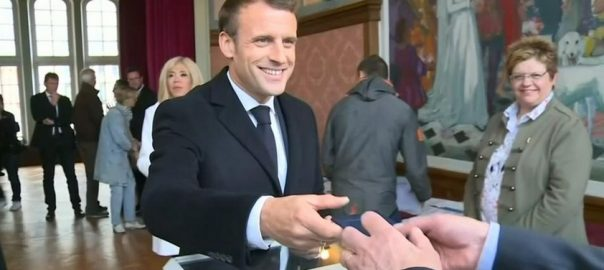 Le Pen Macron France