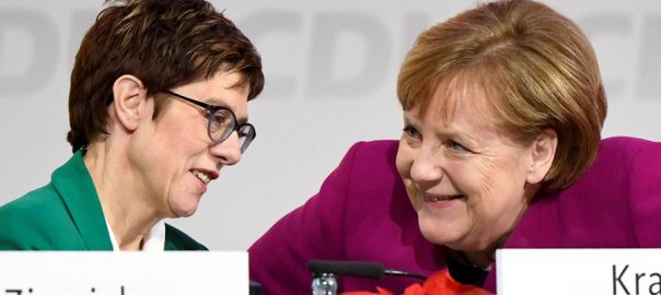 angela merkel germany heir apparent candidate election gridlock Christian Democrats