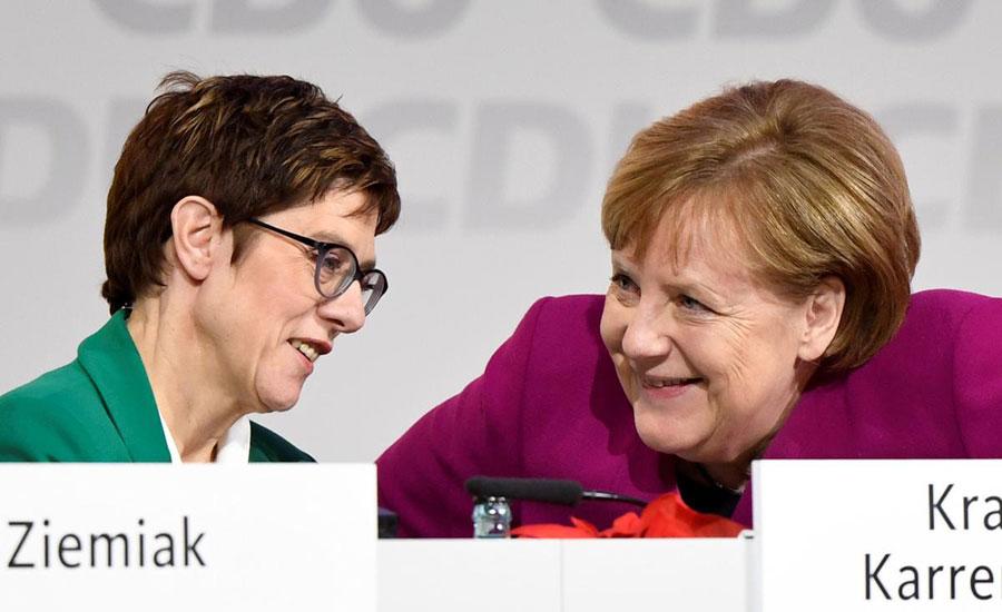 angela merkel germany heir apparent candidate election gridlock Christian Democrats