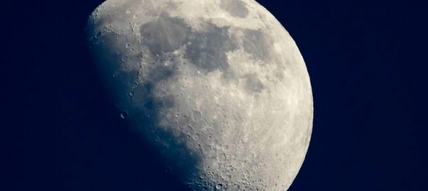 moon shrinking NASA Quakes tectonically
