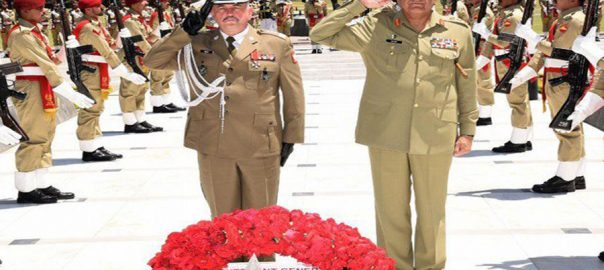 Polish Polish army chief Pakistan Army professionalism regonal peace
