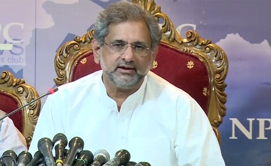 NAB's only objective is to defame politicians: Khaqan Abbasi